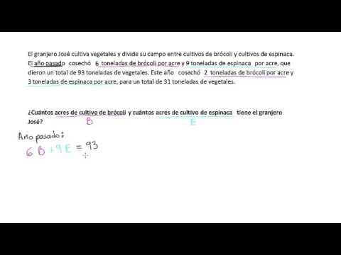Sistemas de ecuaciones (3 de 4) from YouTube · Duration:  9 minutes 17 seconds
