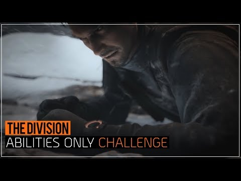 The Division | Abilities Only Challenge (Survival)