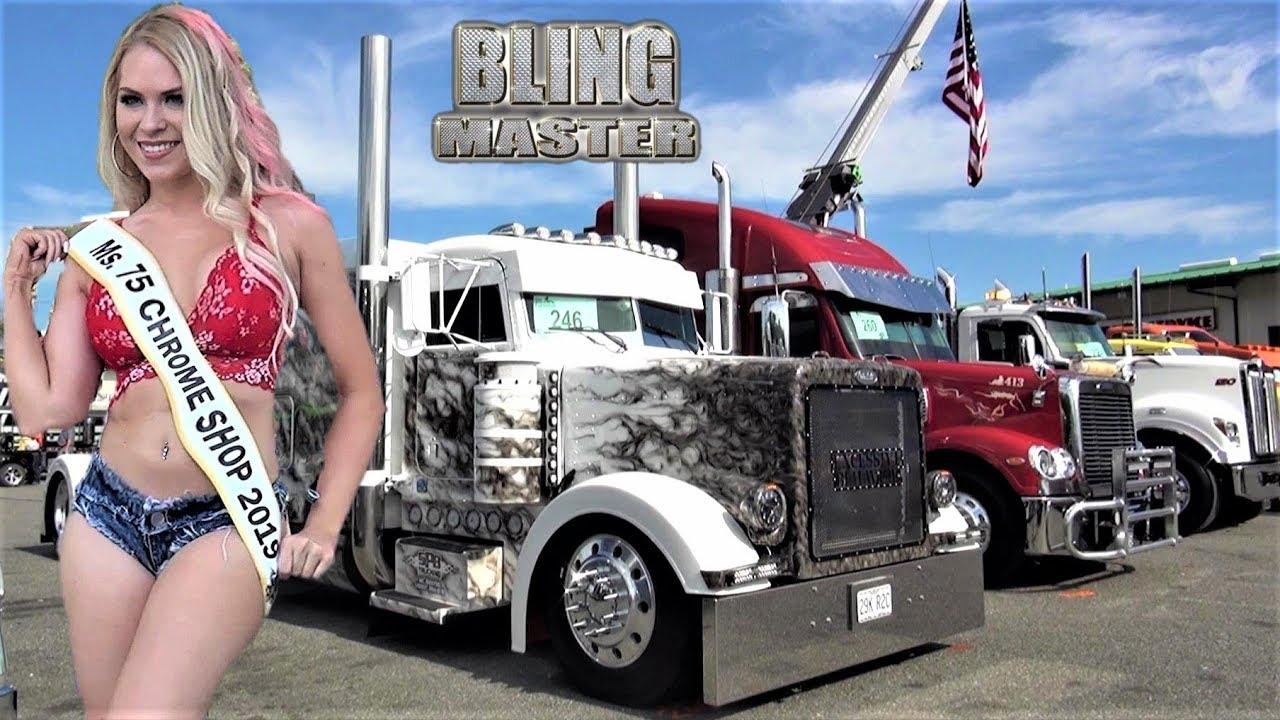 Truck Chrome Shop Near Me >> 75 Chrome Shop Truck Show 2019 Big Rig Trucks Kenworth And Peterbilt Dominate