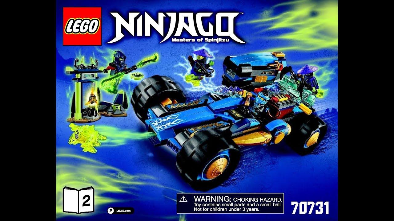 Lego Ninjago Jay Walker One 70731 Instructions Book DIY 2 - YouTube