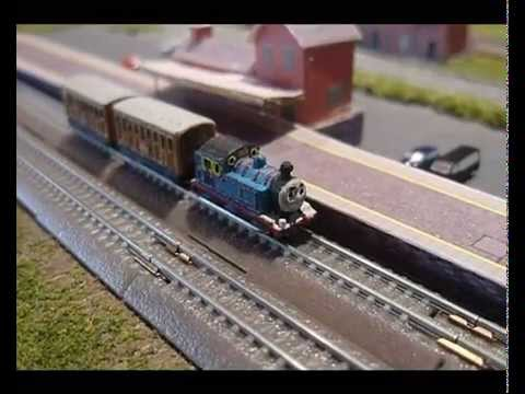 Thomas and the Tgauge.co.uk HST diesels