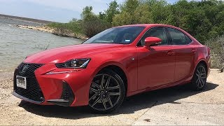 Turbo, RWD, & Japanese---2018 Lexus IS300 F Sport Review