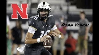 UCF QB Noah Vedral Transfers to Nebraska!! ULTIMATE Highlights!!!
