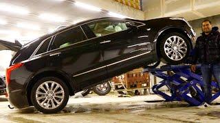 Жесткое испытание Cadillac XT5
