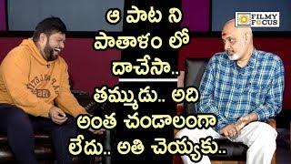 Ramjogayya Shastri Angry on Thaman for Making Fun of him || Ala Vaikuntapuram Lo Songs