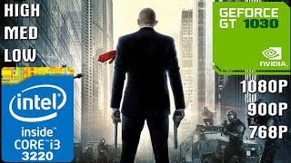Hitman [PC] - I3-3220 + 10GB RAM + GT 1030