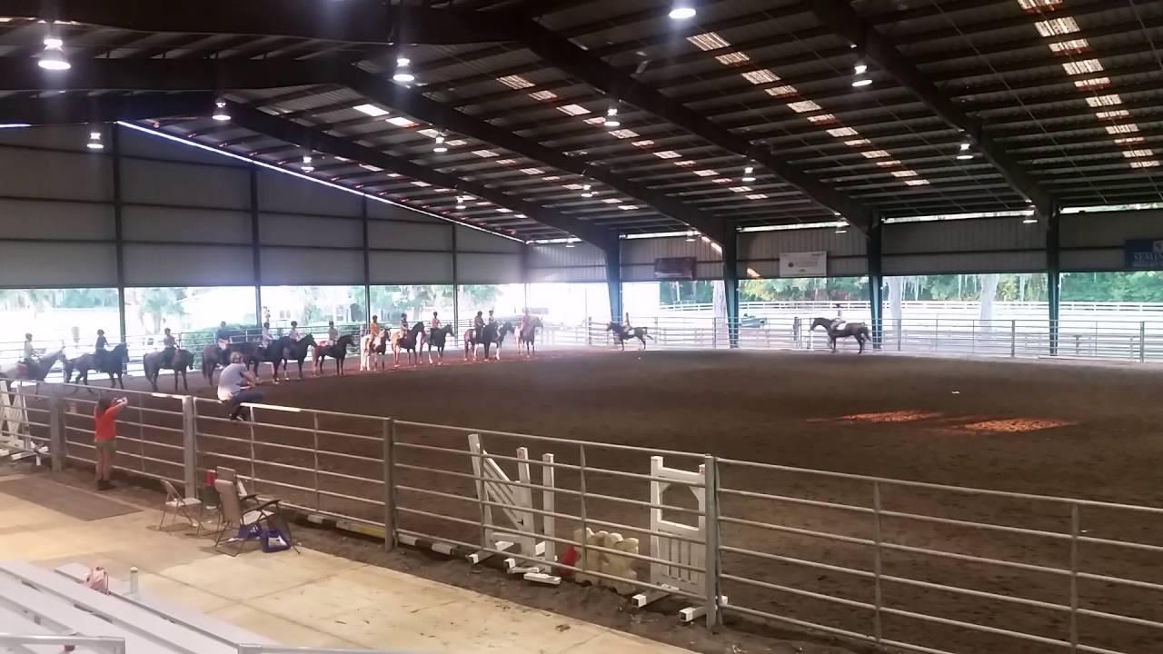 2016 4-H Horsemanship School - Drill - YouTube