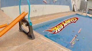 Pista Hot Wheels Desafio Salto da Mega Rampa - Carrinho do Robin #7