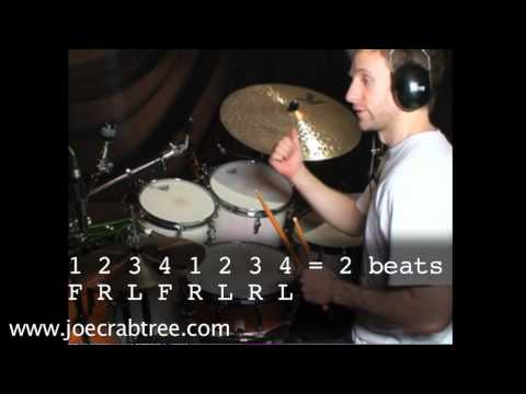 Drum Lesson:Solo ideas and basic phrasing