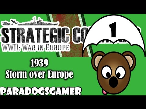 Strategic Command | Allied - 1939 Storm over Europe | Part 1
