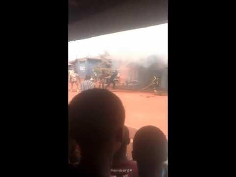 FIRE HIT NKORANZA Brong Ahafo Ghana @ CHRISTMAS