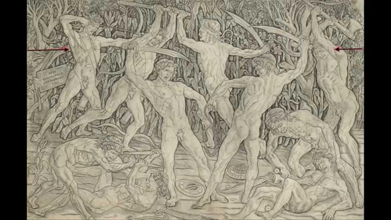 Antonio Del Pollaiuolo Battle Of The Ten Nudes  Metropolitan Museum Of Art