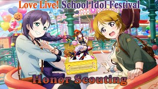 Love Live! SIF - Honor Scouting (12 10+1 Draws)
