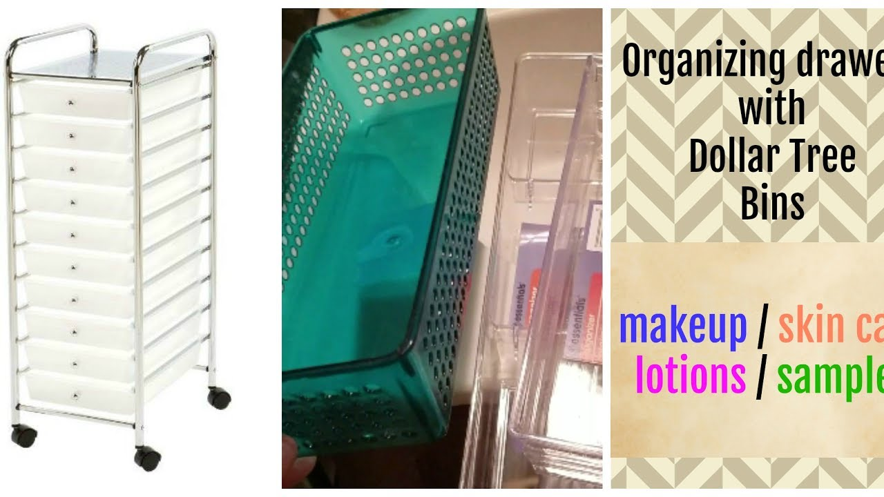 Organizing A Rolling Cart With Dollar Tree Bins Cheap