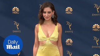 Someone's got a Glow about them! Alison Brie stuns at the Emmys