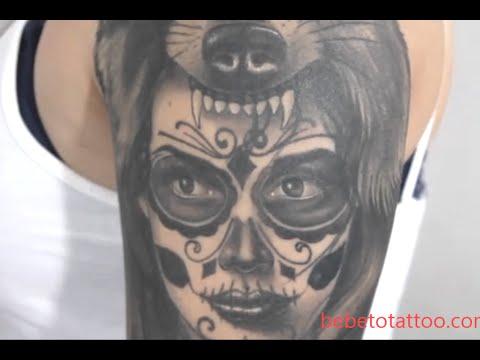 Tattoo Catrina Masculina Significado Tattoos Ideas