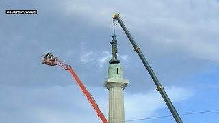 New Orleans removes last Confederate monument