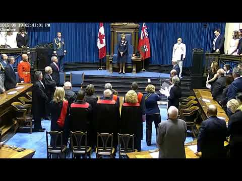 Lieutenant Governor of Manitoba Installation 2015