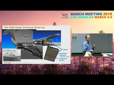The Magnetic Hard Disk Drive - How Information is Stored in the Cloud: Barry Stipe