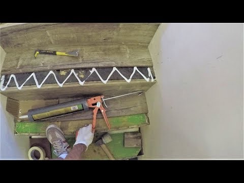 How to Laminate Stairs. Stair Noses. Step by Step Installation. DIY. Shot with GoPro. SHORT