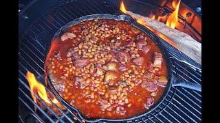 The Ultimate Caribbean Baked Beans #JulyMonthOfGrilling | CaribbeanPot.com