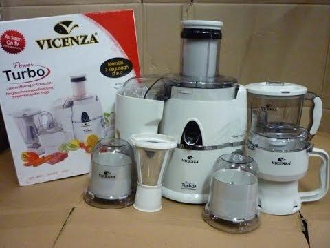 Power Blender / Juicer Vicenza 7in1 VT 337 [unboxing]