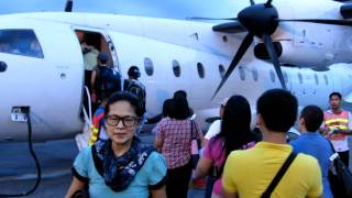 Plane ride to Batanes, Philippines