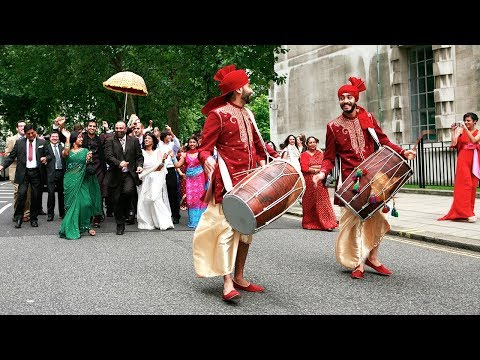 The Drummers Delight Baraat Procession / Groom's Arrival