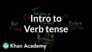 Introduction to verb tense | The parts of speech | Grammar | Khan Academy