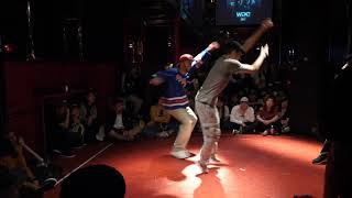AOI & でかさく vs Gonzy & Raza BEST16 HIPHOP WDC 2017 FINAL WORLD DANCE COLOSSEUM Day1