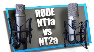 Rode NT2a vs NT1a (and a CAD e100s)