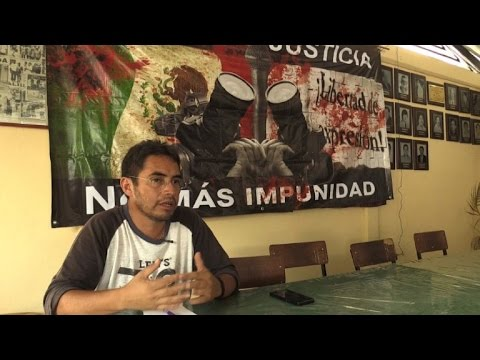 Journalists bear invisible scars of Mexico's drug war
