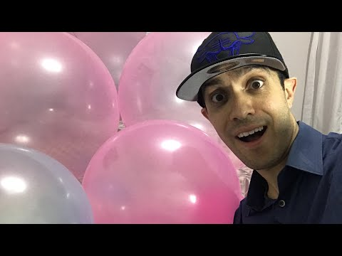 🔴LIVE: EPIC PRANK ON WIFE! 50 GIANT WUBBLE BUBBLE Balls fills up our bedroom!