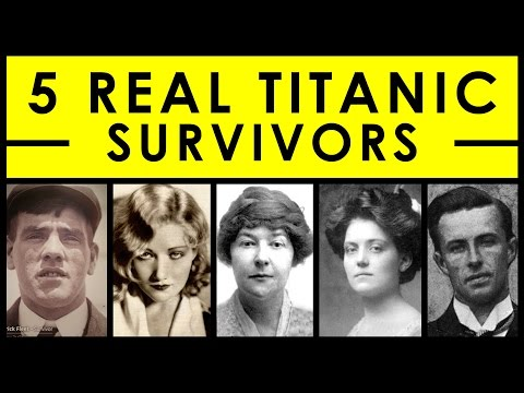 5 Real Titanic Survivors & Their Stories