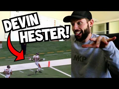 Rugby Player Reacts to DEVIN HESTER NFL Career Highlights YouTube Video