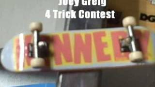 Xi Fingerboard 4 Tricks Contest