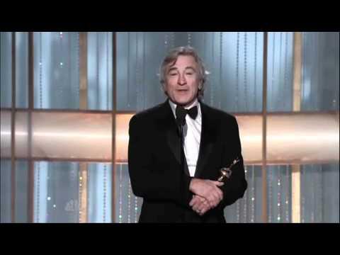 Robert De Niro Received The Lifetime Achievement Award - Golden Globes 2011