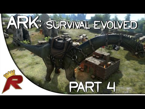 """Ark: Survival Evolved Gameplay - Part 4: """"Taming a Dinosaur!"""" (Early Access)"""