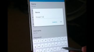 galaxy note 5   straight talk   4g lte   how to set up mms data apn speed test