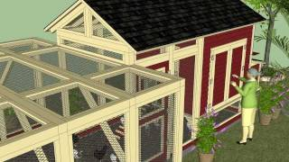 L101u (part I) - Free Chicken Coop Plans - How To Build A Chicken Coop - Backyard Chicken Coop