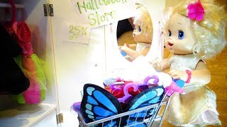 BABY ALIVE Shopping For Halloween Costumes!! Yay!! Baby Alive Videos