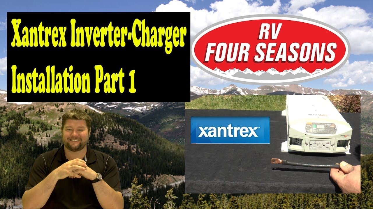 hight resolution of xantrex inverter charger installation part 1