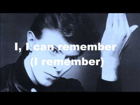 """Heroes"" David Bowie (Lyrics)"