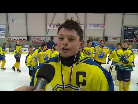 Vítěz ligy Mladších žáku jsou domácí HC Roudnice n.L.