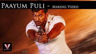 Paayum Puli - Making Video | Vishal,Kajal Aggarwal | D Imman | Suseenthiran