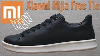 умные кроссовки /кеды Сяоми Mijia FreeTie. Xiaomi Mijia Free Tie Leather Smart Shoes
