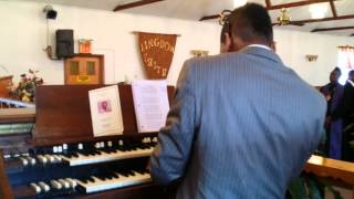 Lawrence lyles plays for funeral