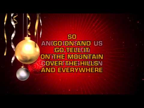 R&B Christmas - Go Tell It On The Mountain (Karaoke)