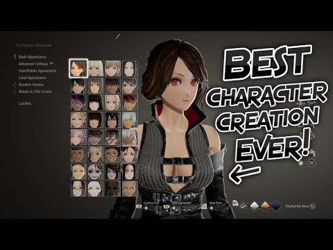 Code Vein: The Best Character Creation! (Part 1)