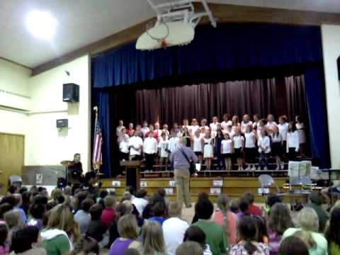 abner gibbs 4th and 5th graders spring concert